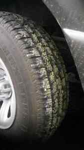 4 # tires 2 months old 225 70 15 .