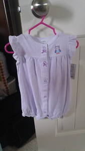 Carter's One Piece Baby Girl Suit (3-6 months)