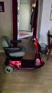 3 wheeled mobility scooter $550.00 or best offer