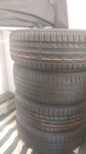 New steel wheels with tires 195/65/15. pwc