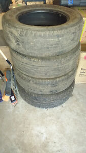 4 used all season Tires for sale