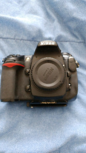 Nikon D300s with accessories