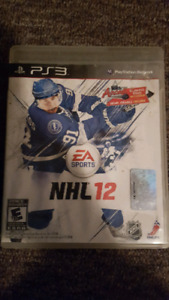 Ps3 game NHL 12