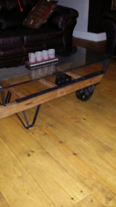 Vintage /antique dolly coffee table