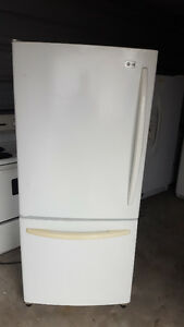 1 bottom freezer fridge 250.00 and 4 top freezer fridges 200.00