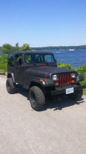 JEEP YJ WITH LOW KMS