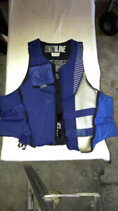 Body Glove wet suit and life jacket - XXL