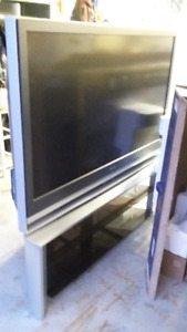 Sony Bravia 55 inch HD Rear Projection TV with matching stand
