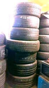 "SUMMER TIRES SINGLES / SETS  14""15""17""18""19""20"" ETC"