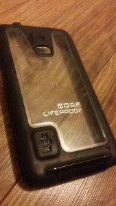 Galaxy S5 life proof water resistant case - paid 50 for it