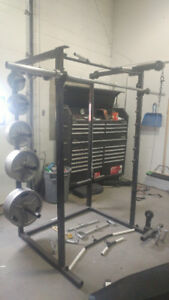 Complete Home Gym (Olympic Weights)