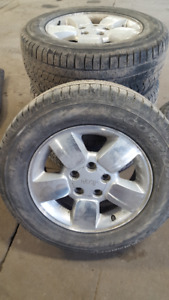 Jeep Grand Cherokee original mags 235/65/17