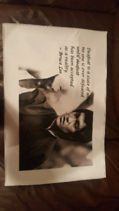 "Bruce Lee motivational poster (Approx size 16"" x 24"")"