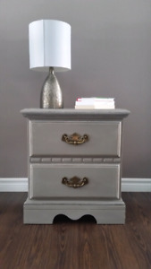 Side/End Table (refinished in chalk paint)