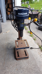 "Mastercraft 8"" Drill press / Belt Sander"