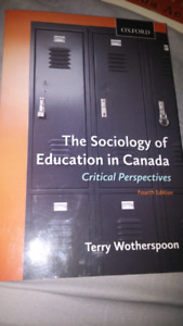 The Sociology of Education in Canada