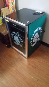 Great rolling rock Beer Fridge.