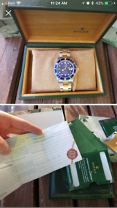 Rolex Submariner (Full Set From Canadian AD)
