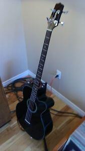 Takamine GB30CE Acoustic-Electric Bass Guitar Black Peterborough Peterborough Area image 4