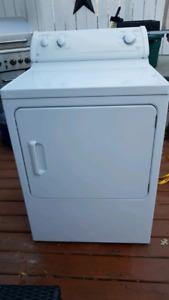 GE 7 cu/ft Natural gas dryer
