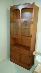 Solid Maple Cabinet