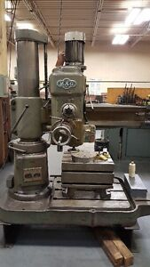 MAS Radial Arm Drill Press - REDUCED - MUST GO