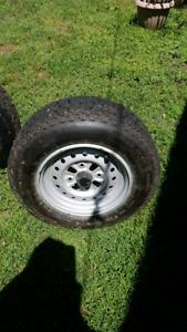 Rim et pneus Honda foreman