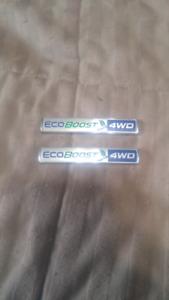 Ecoboost 4wd emblems