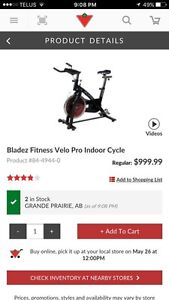 Bladez Fitness Velo Pro Indoor Cycle stationary bicycle