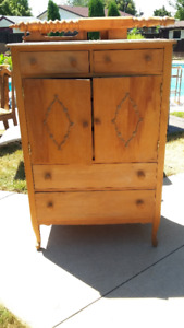 Antique Highboy Dresser