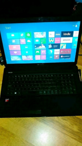 "17.3"" GATEWAY LAPTOP 1TB 8 GB RAM LIKE NEW"