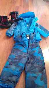 Snow suit and boots
