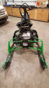 Parting out 2012 Arctic Cat M800 162