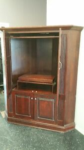 Custom Made Solid Cherry Corner Unit