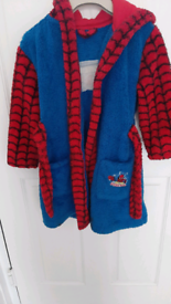 Spiderman robe for boys