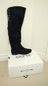 Selling Over-The-Knee Boots from Aldo (worn only once indoors)