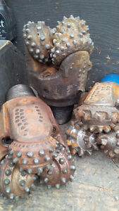 WANTED: Used Oilfield Tricone drill bits and accessories!