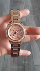 Montre FOSSIL FEMME stainless steel ROSE/GOLD