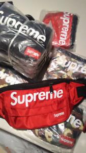 Camo Supreme fanny packs (faux)
