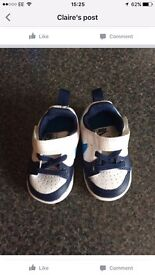 Brand New Baby Nike Trainers Size 3