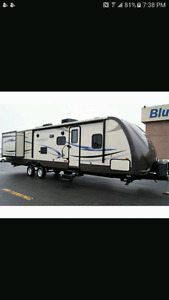 2012 sunset trail reserve bunkhouse trailer