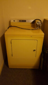 Maytag commercial dryers for sale with coin slots, $75 or $125