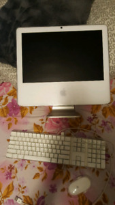 """17"""" IMac with apple keyboard and mouse"""