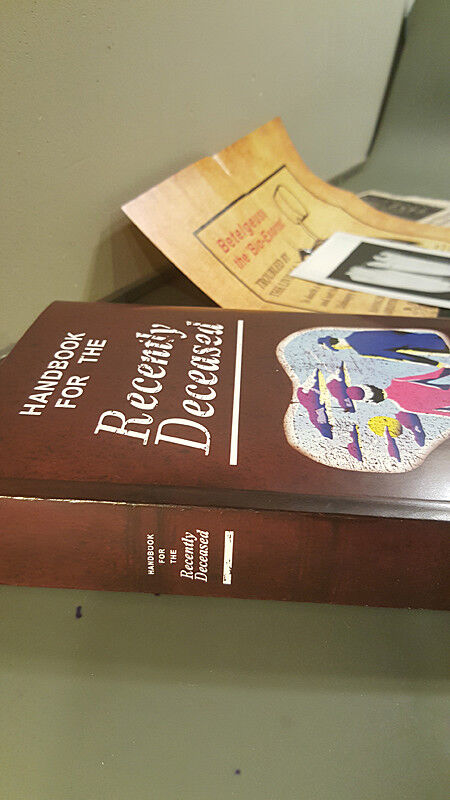 Beetlejuice Handbook for the Recently Deceased Book Costume Cosplay Movie Prop