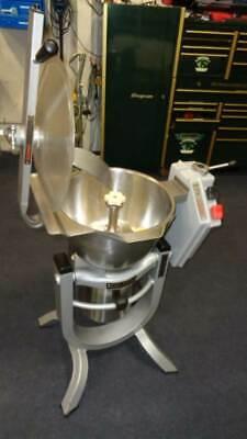 Hobart Vcm Hcm-300 Stainless Steel Vertical Cutter Mixer W Tilting Bowl