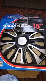 """15"""" hub cap wheel covers"""