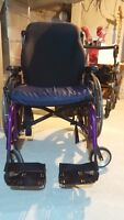 SUNRISE QUICKIE LXI MANUAL WHEELCHAIR