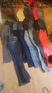 20 pairs of pants size 0/1