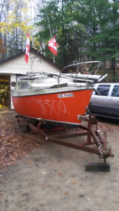 Update on this DS 20 20 foot sailboat