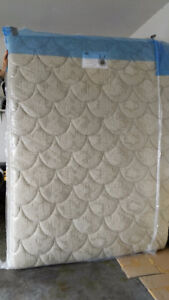 Spring Air queen-size mattress with frame pieces